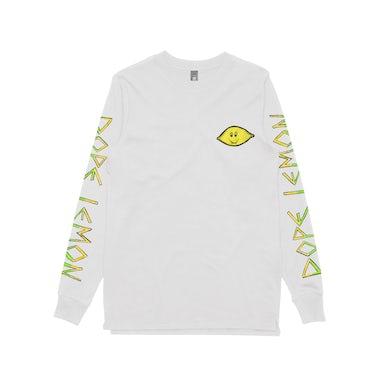 Lemon / White Longsleeve T-shirt