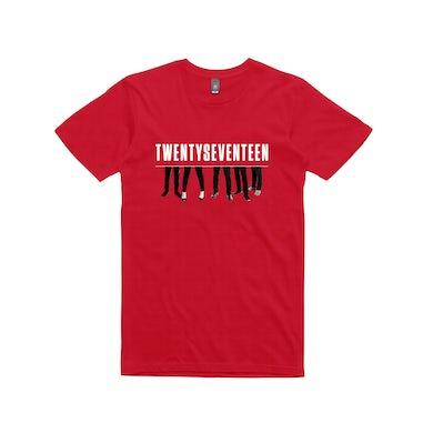 Twenty Seventeen Tour / Red T-shirt