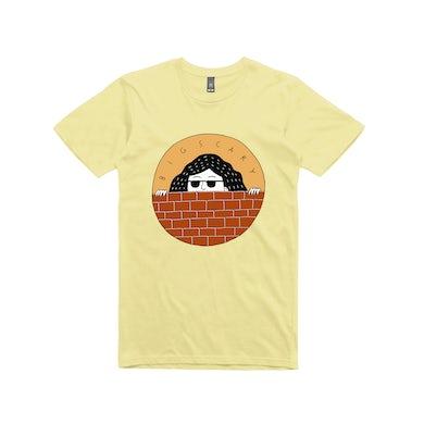 Big Scary Peeping Tom / Lemon T-shirt.