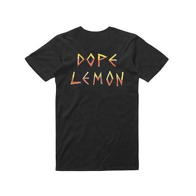 Dope Lemon Honey Bones logo / Black T-shirt