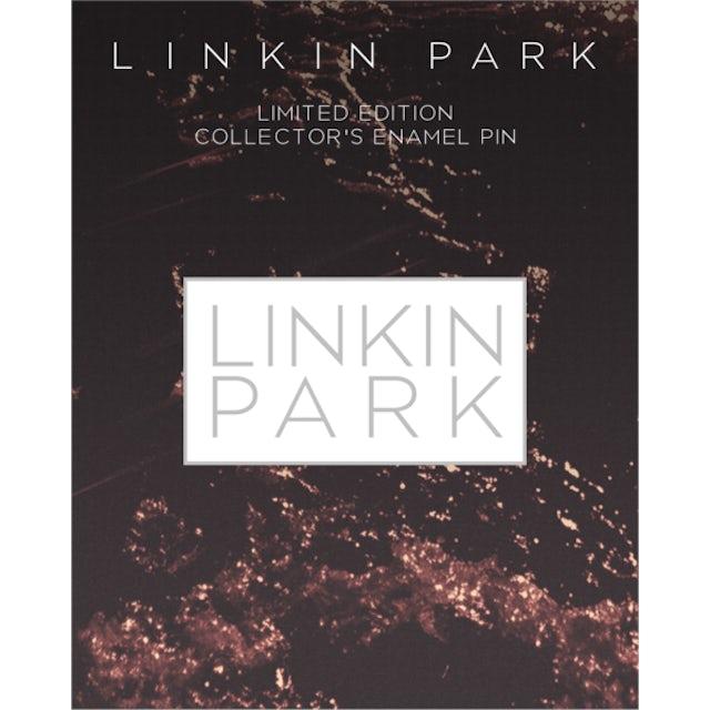 Linkin Park LP Rectangle Enamel Pin-White