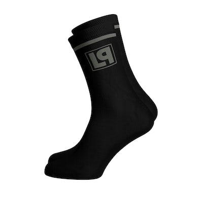 Linkin Park LP Box Logo Knit Socks (Vinyl)
