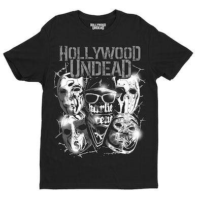 Hollywood Undead Metal Mask Tee