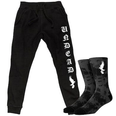Hollywood Undead Undead Joggers & Socks Bundle