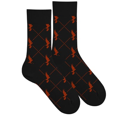 Hollywood Undead Dove Pattern Socks