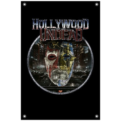 Hollywood Undead New Empire 2 Wall Flag