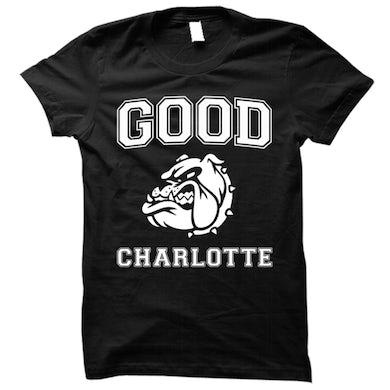 Good Charlotte Collegiate Black Tee