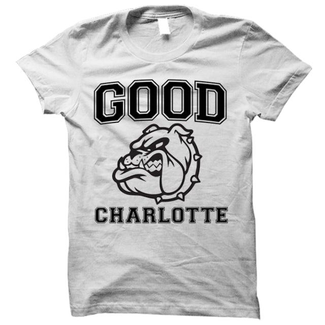 Good Charlotte Collegiate White Tee