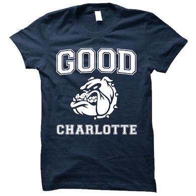 Good Charlotte Collegiate Navy Tee