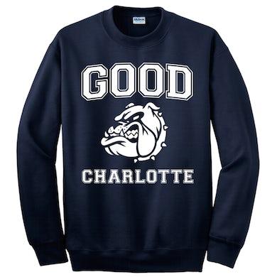 Good Charlotte Collegiate Navy Sweatshirt