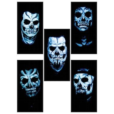Good Charlotte Skull Sticker Pack