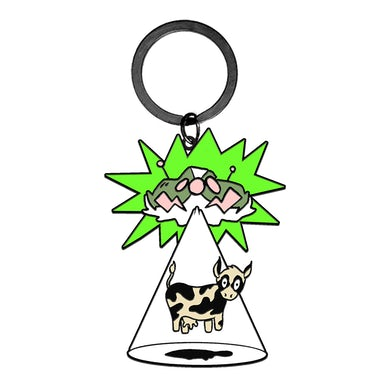 Mike Shinoda DF V3 UFO & Cow Charm Keychain