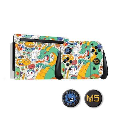 Mike Shinoda DF V.1 Switch Skin Pack + Joystick Covers Bundle