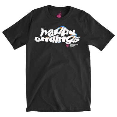 Mike Shinoda Happy Endings Logo Tee
