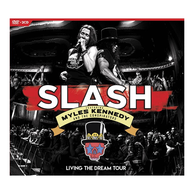 Slash Living the Dream Tour DVD + 2 CD