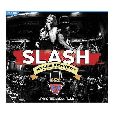 Slash Living the Dream Tour Blu-Ray + 2 CD