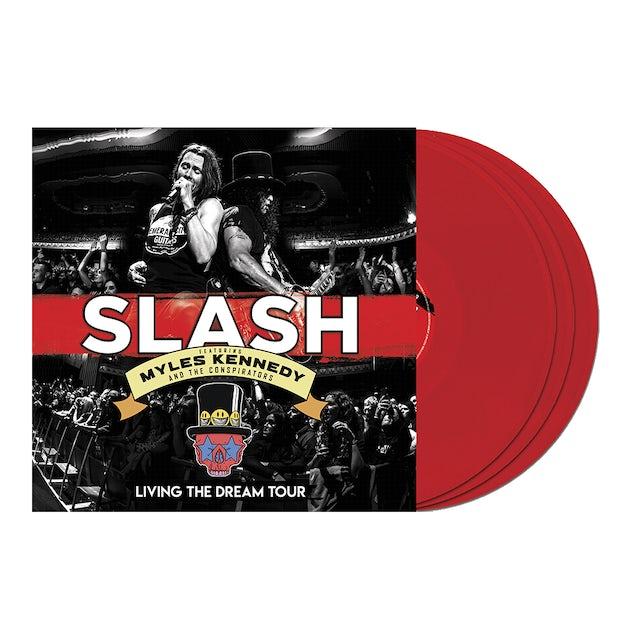 Slash Living the Dream Tour Red 3LP