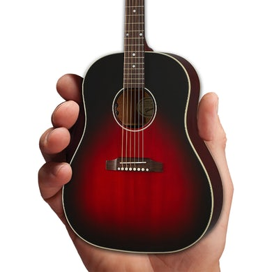 Slash Axe Heaven Gibson J-45 Vermillion Burst Mini Guitar