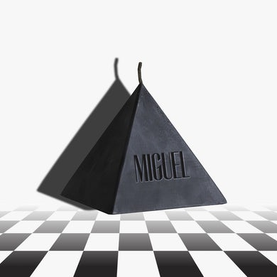 Miguel Pyramid Candle