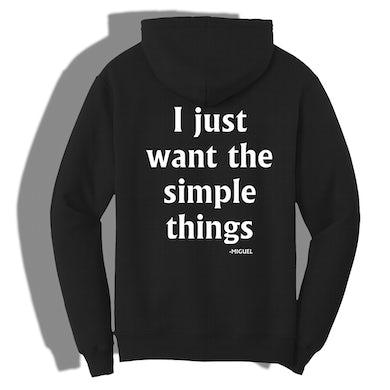 Miguel Simple Things Hoodie