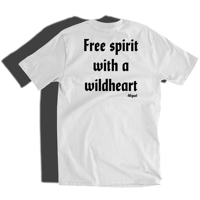Miguel Free Spirit White Tee