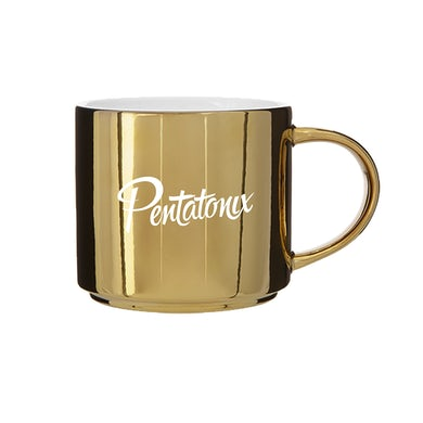 Pentatonix Logo Gold Mug