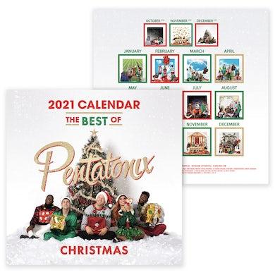 Pentatonix Best of PTX 2021 Calendar