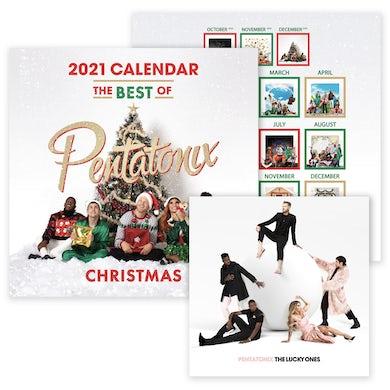 Pentatonix The Lucky Ones CD & 2021 Calendar Bundle