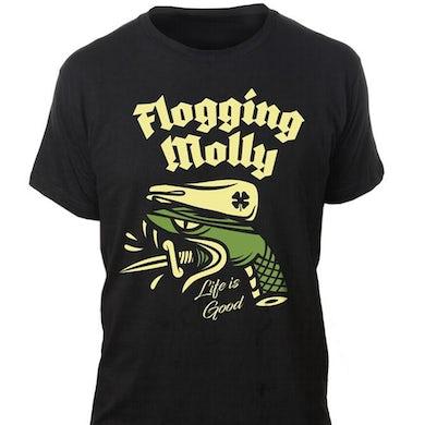 Flogging Molly Snake Head Tour Tee