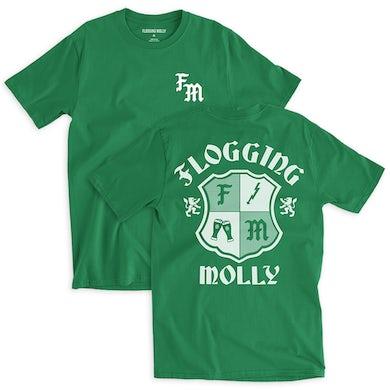 Flogging Molly FM Green Badge Tee