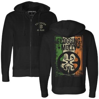 Flogging Molly Split Logo Hoodie