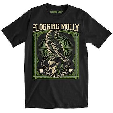 Flogging Molly Raven Tour Tee