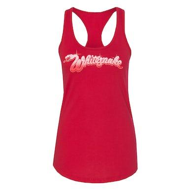 Whitesnake Red Logo Ladies Tank