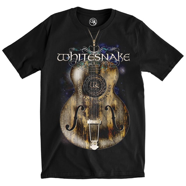 Whitesnake Unzipped Tee