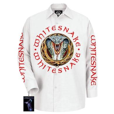 Whitesnake Signed Donington Snake Stage Shirt