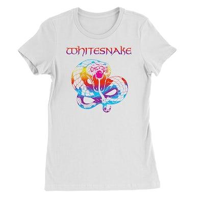 Whitesnake Rainbow Snake Ladies Tee