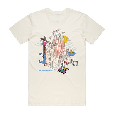 The Wombats Method To The Madness T-Shirt (Off White)