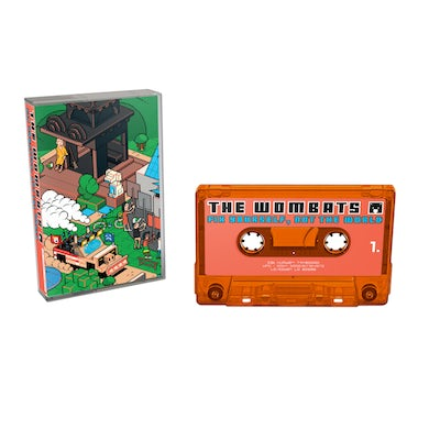 The Wombats Fix Yourself, Not The World Cassette