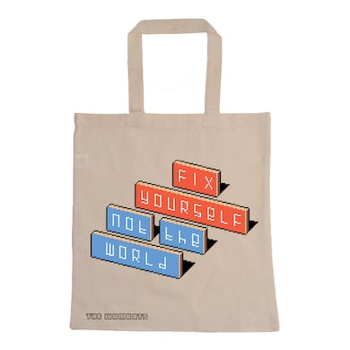 The Wombats Fix Yourself, Not The World Tote Bag