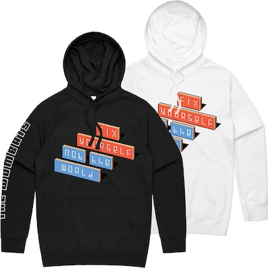 The Wombats Fix Yourself, Not The World Logo Hoodie