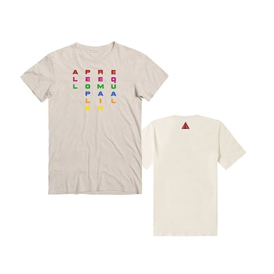 APRE All People Remain Equal T-Shirt - Cream