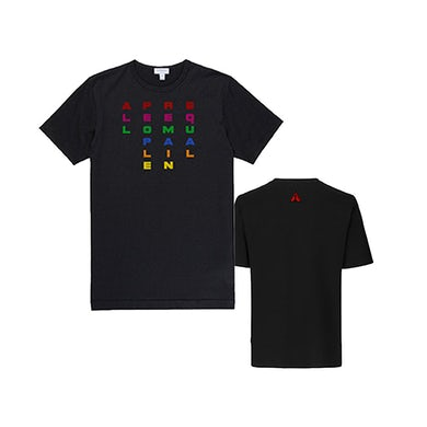 All People Remain Equal T-Shirt - Black