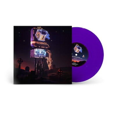 I Just Wanna Know What Happens When I'm Dead Opaque Purple Vinyl EP 12 Inch