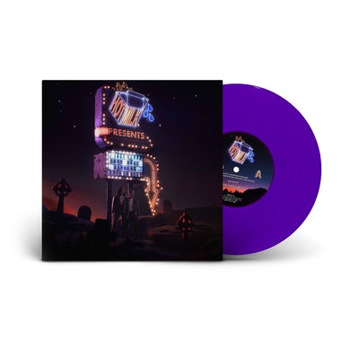 Hot Milk I Just Wanna Know What Happens When I'm Dead Opaque Purple Vinyl EP 12 Inch