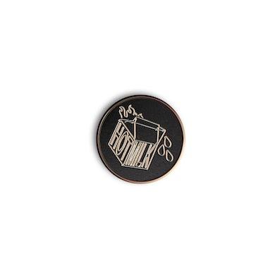 Hot Milk Enamel Pin Badge