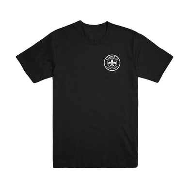 Stanleys  Look Back Logo T-Shirt (Black)