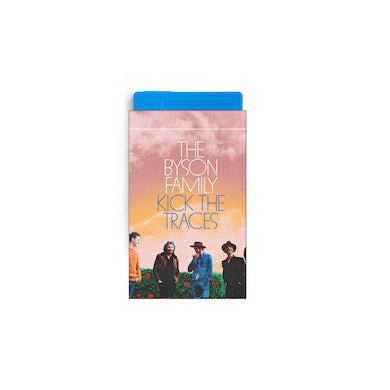 The Byson Family Kick the Traces (Extended Version) Blue Cassette