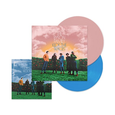 The Byson Family Kick the Traces (Extended Version) Coloured Double Vinyl
