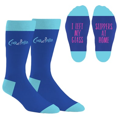 Cinderella Logo Socks