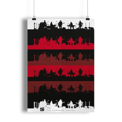 The The.  Silhouette Poster (Portrait)